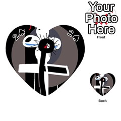 Dark Playing Cards 54 (Heart)