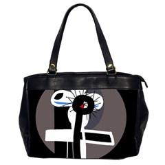 Dark Office Handbags (2 Sides)