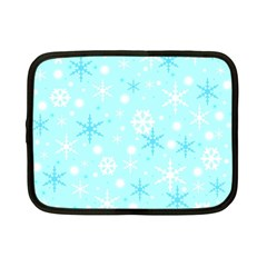 Blue Xmas pattern Netbook Case (Small)