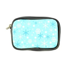 Blue Xmas pattern Coin Purse