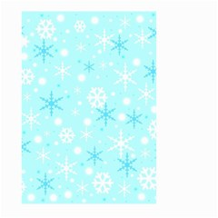 Blue Xmas pattern Large Garden Flag (Two Sides)