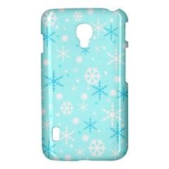 Blue Xmas pattern LG Optimus L7 II