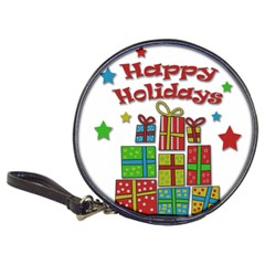 Happy Holidays - gifts and stars Classic 20-CD Wallets