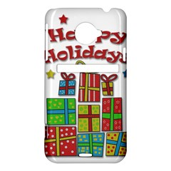 Happy Holidays - gifts and stars HTC Evo 4G LTE Hardshell Case