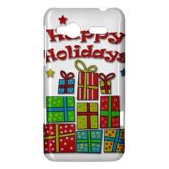 Happy Holidays - gifts and stars HTC Radar Hardshell Case