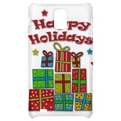 Happy Holidays - gifts and stars Samsung Infuse 4G Hardshell Case