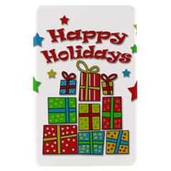 Happy Holidays - gifts and stars Kindle Fire (1st Gen) Hardshell Case