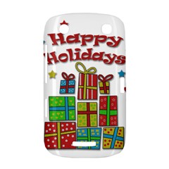 Happy Holidays - gifts and stars BlackBerry Curve 9380