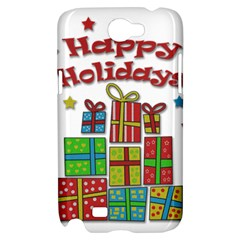 Happy Holidays - gifts and stars Samsung Galaxy Note 2 Hardshell Case