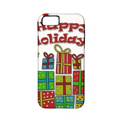 Happy Holidays - gifts and stars Apple iPhone 5 Classic Hardshell Case (PC+Silicone)