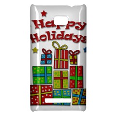 Happy Holidays - gifts and stars HTC 8X