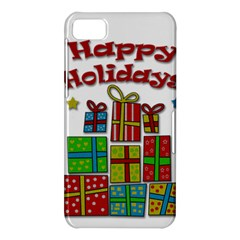 Happy Holidays - gifts and stars BlackBerry Z10