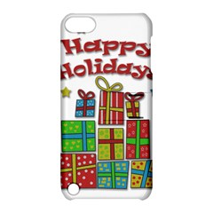 Happy Holidays - gifts and stars Apple iPod Touch 5 Hardshell Case with Stand