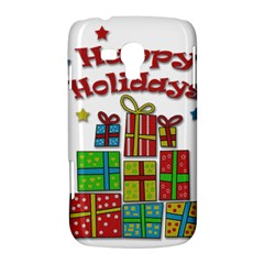 Happy Holidays - gifts and stars Samsung Galaxy Duos I8262 Hardshell Case