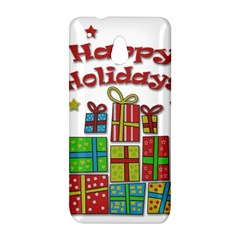 Happy Holidays - gifts and stars HTC One Mini (601e) M4 Hardshell Case