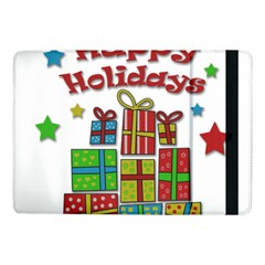 Happy Holidays - gifts and stars Samsung Galaxy Tab Pro 10.1  Flip Case