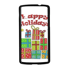 Happy Holidays - gifts and stars Nexus 5 Case (Black)