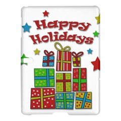 Happy Holidays - gifts and stars Samsung Galaxy Tab S (10.5 ) Hardshell Case