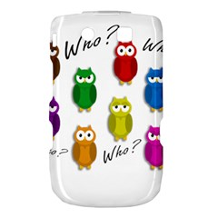 Cute owls - Who? Torch 9800 9810