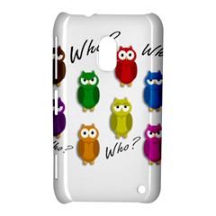 Cute owls - Who? Nokia Lumia 620