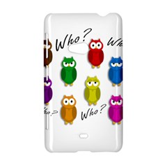 Cute owls - Who? Nokia Lumia 625