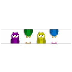 Cute owls - Who? Flano Scarf (Small)