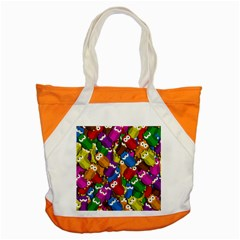 Cute owls mess Accent Tote Bag