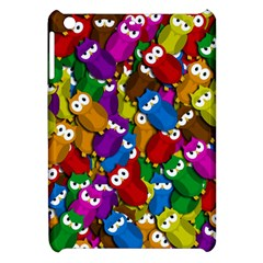 Cute owls mess Apple iPad Mini Hardshell Case
