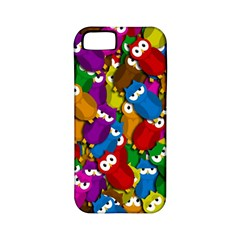 Cute owls mess Apple iPhone 5 Classic Hardshell Case (PC+Silicone)