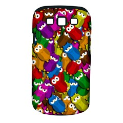 Cute owls mess Samsung Galaxy S III Classic Hardshell Case (PC+Silicone)