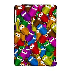 Cute owls mess Apple iPad Mini Hardshell Case (Compatible with Smart Cover)