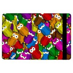 Cute owls mess iPad Air Flip