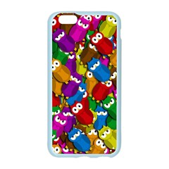 Cute owls mess Apple Seamless iPhone 6/6S Case (Color)