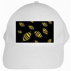 Decorative bees White Cap