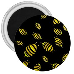 Decorative bees 3  Magnets