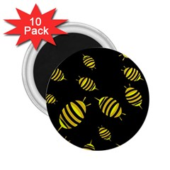Decorative bees 2.25  Magnets (10 pack)