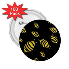 Decorative bees 2.25  Buttons (100 pack)