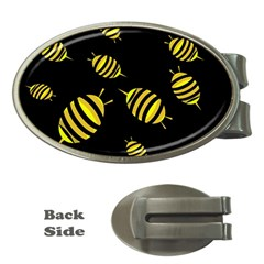 Decorative bees Money Clips (Oval)