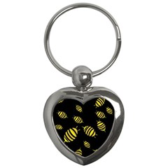 Decorative bees Key Chains (Heart)