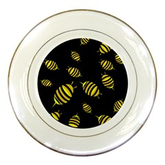 Decorative bees Porcelain Plates