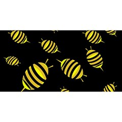 Decorative bees YOU ARE INVITED 3D Greeting Card (8x4)