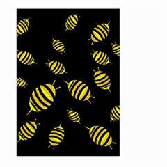 Decorative bees Large Garden Flag (Two Sides)