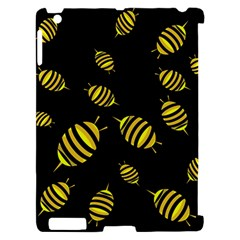 Decorative bees Apple iPad 2 Hardshell Case (Compatible with Smart Cover)