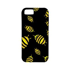 Decorative bees Apple iPhone 5 Classic Hardshell Case (PC+Silicone)