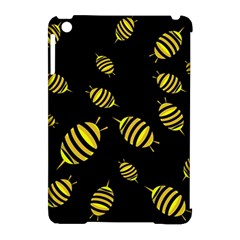 Decorative bees Apple iPad Mini Hardshell Case (Compatible with Smart Cover)