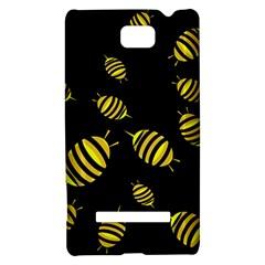 Decorative bees HTC 8S Hardshell Case