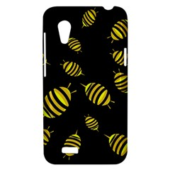 Decorative bees HTC Desire VT (T328T) Hardshell Case