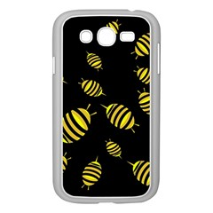 Decorative bees Samsung Galaxy Grand DUOS I9082 Case (White)