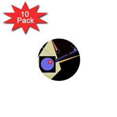 Construction 1  Mini Buttons (10 pack)