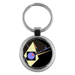 Construction Key Chains (Round)